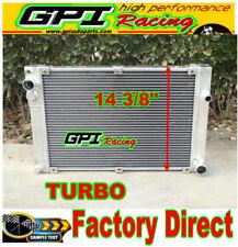 Aluminum radiator fit PORSCHE 944 2.5L TURBO / S2 3.0L 1986-1991 manual/MT 88 89