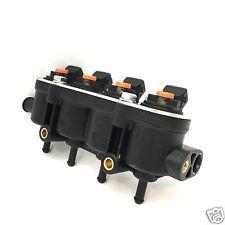 Landirenzo Landi Injektor Leiste 4 Zyl.mit Sensorstutzen MED 25-22 orange Rail
