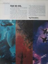 7/1989 PUB SANDERS LOCKHEED LAADS ALQ-144 ALQ-126B AIR DEFENSE SYSTEM RADAR AD