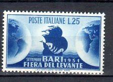 repubblica 1951 fiera di bari n. 670 mnh