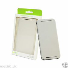 Authentique Officiel HTC HC V941 étui rabattable Porte-feuille pour One M8 Blanc