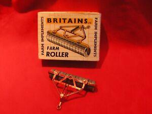 Nice Vintage1960s Boxed Britains Farm Roller No 9533