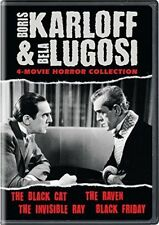Boris Karloff & Bela Lugosi: 4-Movie Horror Collection [New DVD]