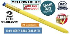 S Pen Touch Stylus For Samsung Galaxy Note 9 YELLOW+BLUE OEM Original SPen USA.