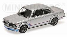 BMW 2002 Turbo 1973 Silver 1:18 MINICHAMPS 155026201