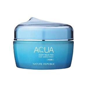 Nature Republic Super Aqua Max Fresh Watery Cream (EXP:12-2021)