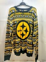 Pittsburgh Steelers NFL Team Apparel Pullover Mens Sweater XL