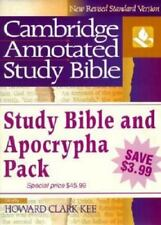 NRSV Cambridge Annotated Study Apocrypha Hardback Shrink-Wrapped Pack NR340