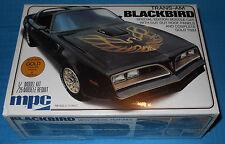 MPC 1977 TransAm Blackbird-Gold Special Edition-1/25- FREE Testors Hobby Knife