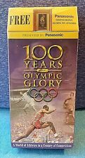 100 Years of Olympic Glory(VHS) BRAND NEW SEALED! Includes FREE Atlanta 1996 PIN
