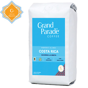 Fresh Green Coffee Beans, 2 lbs Costa Rican Tarrazu SHG Specialty Raw, Unroasted