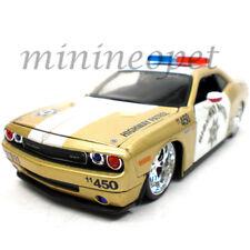 MAISTO 31342 ALL STARS 2008 DODGE CHALLENGER SRT8 1/24 POLICE CAR GOLD