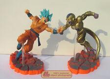 Dragon Ball Z Super Saiyan God Blue Son Goku Golden Freeza Frieza 2 Figure set