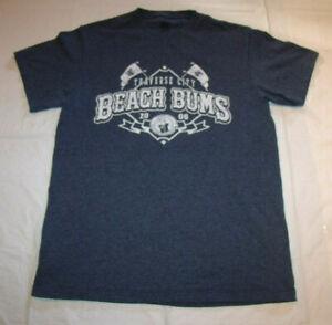 Traverse City Beach Bums 2006 Gray Frontier MiLB T-Shirt Men's Medium MV Sport