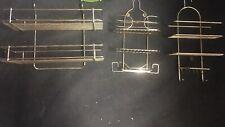 Job lot Chrome Shower Caddy Bathroom Hanging Storage Racks Shelf Stainless Steel