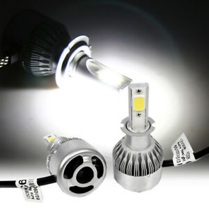 Fog Light H3 LED COB 36W 6000K White High power Headlight Light Bulbs Y
