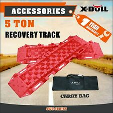 X-BUL Pair Recovery Tracks Red 4WD ATV Tyre Ladder Sand Mud Snow Off Road