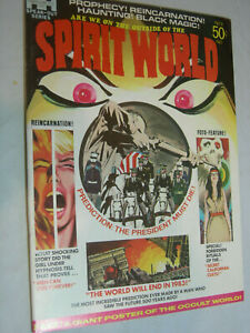 Spirit World #1 F Jack Kirby classic Poster Attached
