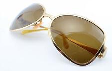 OLIVER PEOPLES Sonnenbrille OP-524 GS Vintage Metal Sunglasses Oval 1990s Brass