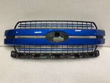 2018 2019 2020 FORD F-150 LARIAT SPORT GRILLE OEM NTO VELOCITY BLUE
