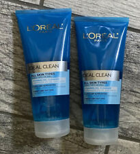L'oreal Ideal Clean Foaming Gel Cleanser All Skin Types 6.8 OZ ( Lot of 2 )