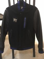 Nike Air Destroyer NYC  OG Wool Leather Bomber Jacket Mens Size XS