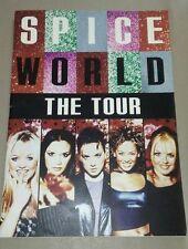 SPICE GIRLS World Tour Vintage Program Book with Rare Photos Fan Collectible