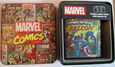 Avengers Captain America Falcon Marvel Comics Trifold Wallet Marvel Comics 0018
