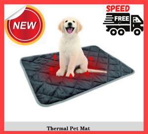 Warm Dog Mat For Cat Pet Mat Soft Sleep Chew Resistant Steel Cord Heating Pads