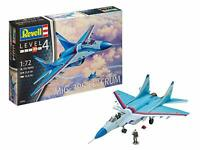 Revell Modellbausatz Flugzeug 1:72 - MiG-29S Fulcrum im Maßstab 1:72, Level 4 or