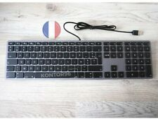 LMP Alu Mac USB Tastatur m. Ziffernblock Apple Keyboard FR (AZERTY) Space Grey