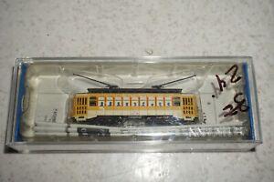 Bachmann 61098 N Scale Yellow Brill Trolley #36 MIB