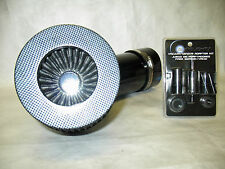 "Universal 4"" Diameter Carbon Fiber Short Ram Air Intake with Sensor Adapter Kit"