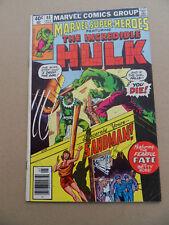 Marvel Super Heroes 88 . Hulk . Marvel 1980 -  FN