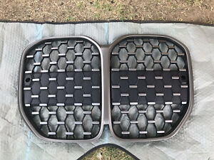 •2021 BMW 4 SERIES FRONT GRILL OEM W/ All Tabs