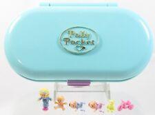 1992 Vintage Polly Pocket Complete Babysitting Stamper Bluebird Toys (38279)