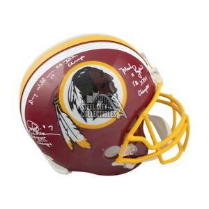 Theismann Rypien Williams SB Champs Autographed Redskins F/S Football Helmet JSA