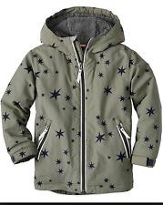 HANNA ANDERSSON Fleece Lined Parka Jacket Coat Boys Size 100 NWT $95