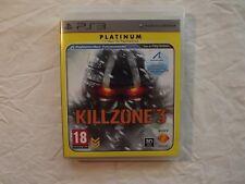 KILLZONE 3 PS3 PLATINUM. BUEN ESTADO CON MANUAL. ENVIO GRATIS CERTIFICADO.