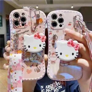 For i Phone 7 8 Plus X MAX 11 12 Pro Cute Cat Colorful Heavy Duty Cover Case
