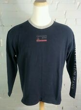 Vintage Og Original 90s Calvin Klein Sleeve Print Ck T Shirt L Hip Hop Grunge
