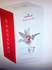 2018 Hallmark Hummingbird Surprise UNOPENED BOX Green Jewel Tone REPAINT  NIB