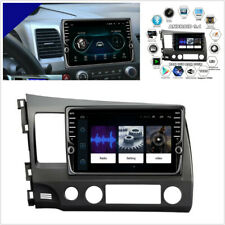 For 06-11 Honda Civic 9'' 1080P 1+16GB Quad-core Car Stereo Radio GPS Navigation