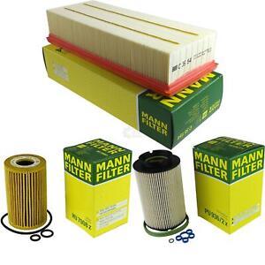 Mann-filter Set Skoda Octavia Combi 1Z5 2.0 Tdi 16V 4x4 A3 Sportback 8PA