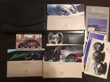 2004 Mercedes Benz E Class Sedan Owners Manual With Case OEM Free Shipping