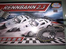 Rennbahn 2.3 Kinder Bahn Autorennbahn Kinderrennbahn + 2 x AMG Mercedes Auto