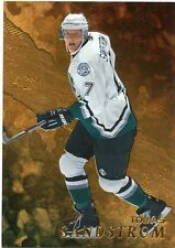 98-99 BE A PLAYER BAP GOLD #153 TOMAS SANDSTROM MIGHTY DUCKS *33009