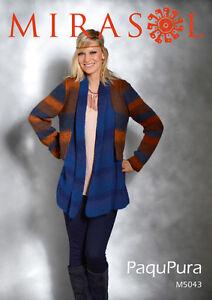 Mirasol Paqu Pura pattern M5043 Double blended jacket