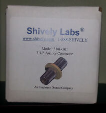 "Shively Labs 318F-501 3-1/8"" Anchor Connector"