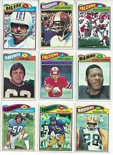 1977 Topps Football you pick commons 8 picks for $2.00  EX cond. and better